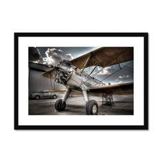964 Stearman Framed & Mounted Print – Trigger Image Buy Prints, Prints For Sale, Art Reproductions, Fine Art Paper, Photo Art, Giclee Print, Fine Art Prints, Satin Finish, Clean Lines