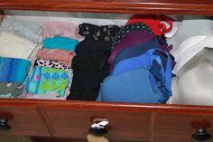 Tidy-Up Gal: Organized Underwear Drawer