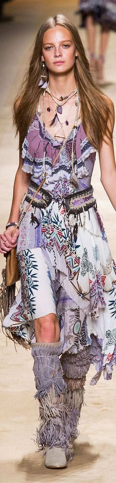 Bohemian Style… Etro Collection Spring 2015