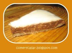 Comer y Callar : Tarta de Coco, cacao y cerezas