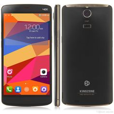 Original KINGZONE Z1 4G LTE 64-Bit Octa Core Cell Phone 2GB/16GB Android 4.4 Phone 5.5inch 1280*720 13.0MP Unlocked Smartphone from Easycome,$184.06