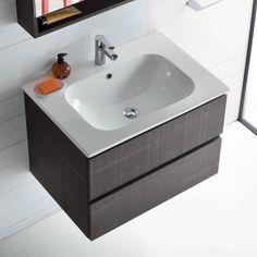 Mobile bagno con lavabo integrato nel piano Atlantic - ARREDACLICK