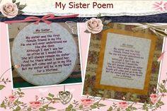 P058-My sister Poem