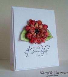 Red Tattered Blossom