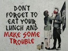 Bansky. Pinned this here and in art to help educate my fellow Kells fans. Ltfu :)