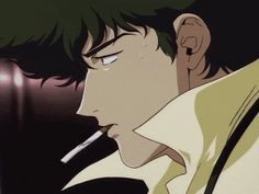 Discover & share this Cowboy Bebop GIF with everyone you know. GIPHY is how you search, share, discover, and create GIFs. Faye Valentine, Old Anime, Manga Anime, Cowboy Bebop Wallpapers, Cowboy Bepop, Cowboy Bebop Anime, See You Space Cowboy, Space Cowboys, Ghost In The Shell