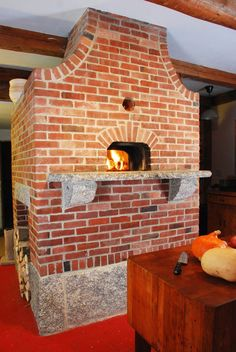Indoor wood burning oven. OMG! Winter Baking Heaven! | For the Home ...