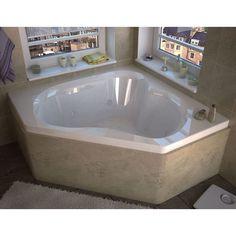 Atlantis Whirlpools Cascade 60 x 60 Corner Soaking Bathtub FLASH SALE! Atlantis Cascade 60 x 60 Corner Soaking Whirlpool Bathtub – bathreserve Jacuzzi Tub, Jetted Bathtub, Bathtub Shower, Bathtub Repair, Drop In Bathtub, 2 Person Bathtub, Corner Tub, Corner Jetted Tub, Modern Bathrooms