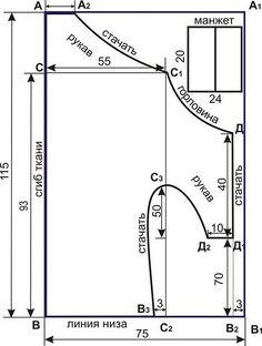 Asymmetric Dress / pattern instructions