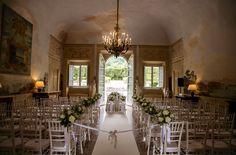 Ceremony in the Villa by Wedinitaly