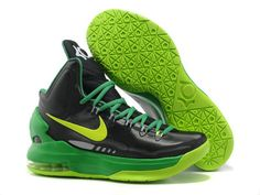 0c9aa10632a8 Nike Zoom KD 5 Black Green Volt Shoes.The Nike Zoom KD V features a
