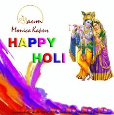 #AumMonicaKapur wishes you all a very Happy and #safe Holi  #holi #color