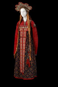 Le costume populaire russe - DOMCOHAS - domcohas.com