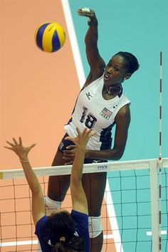 2012 U.S. Olympic Women's Volleyball Team - Megan Hodge