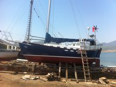 Werft Chalkis Sailing Ships, Boat, Vehicles, Sailing Yachts, Dinghy, Boating, Boats, Sailboat, Vehicle
