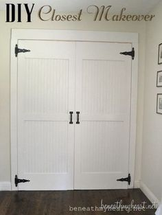Superbe Closet Door Makeover Reveal! {Dremel Weekends