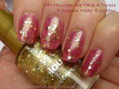 Tines Kosmetikblog: Make It (Golden) Pink!
