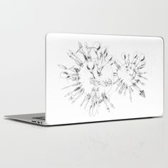 THERE IS OTHER PLANET laptop cover