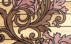 Solid Wood Decorative Elements