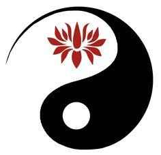 makes me think of a yin/yang crane