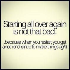 ❤️ Starting Over Quotes ❤️ Starting Over Quotes. Starting Over Quotes dont be afraid to start over it gives you a chance to dont be afraid to start over its a chance to build qu. Second Marriage Quotes, End Of Marriage, Second Chance Quotes, Divorce Quotes, Starting Over Quotes, Over It Quotes, Starting Over Again, Love Life Quotes, Quotes To Live By