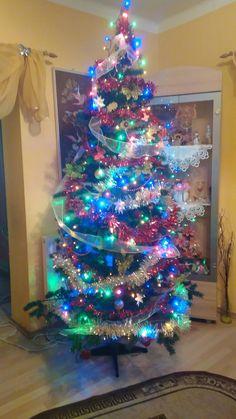 Christmas Tree, Holiday Decor, Home Decor, Teal Christmas Tree, Homemade Home Decor, Xmas Trees, Interior Design, Christmas Trees, Home Interiors