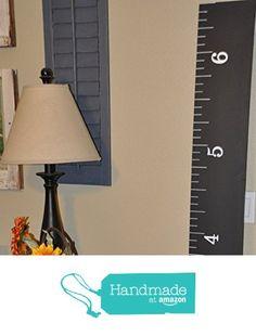 5000 Sold! Life-size handmade CHALKBOARD growth chart rulers for measuring kids' height from Keepsake Rulers https://www.amazon.com/dp/B01F0SCZUO/ref=hnd_sw_r_pi_dp_eHP6xbT95FNJA #handmadeatamazon