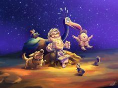 Disney Pixar UP - Dream Together by miacat7.deviantart.com on @DeviantArt