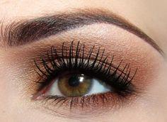 bronze eye & lashes!!!