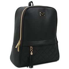 Copi Women's Modern Design Casual Fashion small Backpacks Black. It's small backpack. Modern design Backpacks and Emotional and feminine type multipurpose easy fit for shopping, promenade, and outing bag. This bag does not fit A4 folder. But, It's big enough for 10.1-inch-tablet PC and I can fit a folder in it as well. It's does fit backpack for fashion. It's Simple, cute and feminine type of small bag. (11.8in(H) * 9.8in(W)-(Bottom:9.8, Top:7.5) * 4.3in(D), weighs 0.83LB, Handle…