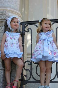 Vestidos de niña Para Sofía Primavera Verano 2014 | estoyradiante.com