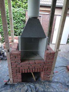 Marktplaats.nl > Buitenhaard bouwen inbouwhaard openhaard bbq-openhaard - Tuin en Terras - Barbecues en Vuurkorven