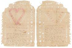 A WWI love letter dated 25 August 1918 from a French woman to an Australian soldier.