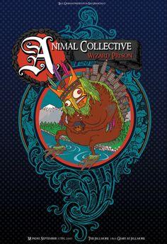 Animal Collective - San Francisco, CA - 2007 - Scraped Knee