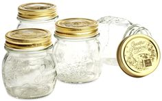 Quattro Stagioni Canning Jar Set 4pc, 8-1/2 oz - casa.com