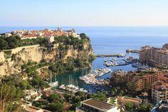 France, Monaco Sea Sun Port France Rock Landscape #france, #monaco, #sea, #sun, #port, #france, #rock, #landscape