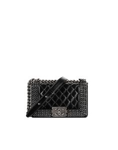 074e509b58059 Calfskin chevron quilting Boy CHANEL flap bag Spring-summer 2015 - CHANEL  Luxury Bags