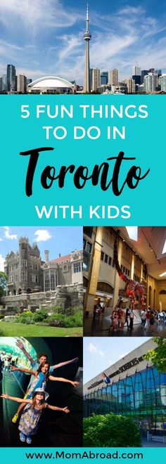 Planning a trip to Toronto? Canada's largest city has so much to offer for families! Here are five fun things to do with kids in Toronto!