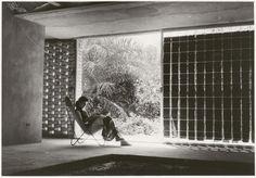 Rifat Chadirji residence. #Baghdad, #Iraq, 1954. Rifat Chadirji.#architect AIF/ Chadirji Foundation