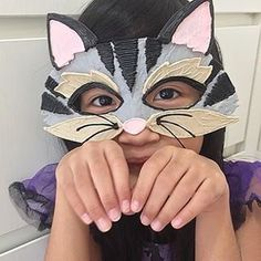 Make yourself a Sassy Cat Mask using the Start. 3d Pen Stencils, 3doodler, Easy Meatloaf, Arctic Animals, Cat Mask, Crafts For Kids To Make, Healthy Summer, Easy Workouts, Mask For Kids