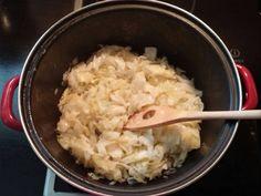 Káposztás kapusznyika (káposztás buci) recept lépés 3 foto Grains, Rice, Food, Essen, Meals, Seeds, Yemek, Laughter, Jim Rice