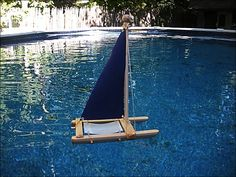 AHOY and prepare for fun!  This catamaran is decked out for fun and stability. By balancing the beam and mast height, this boat is unsinkable. So even if the weather starts getting rough, you will not end up on some uncharted desert island. But the fearless crew may still be a good