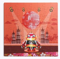 Robota puzzle from puzzles forever - such lovely art work! Tween, Puzzles, Parenting, My Love, Toys, Art Work, Robot, Design, My Boo
