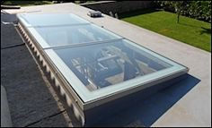 Multi-part and bespoke rooflight designs from AstroGlaze.
