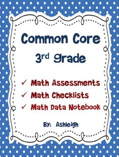 Common Core Assessments: Third Grade Math