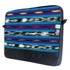 Socially Responsible Laptop Bags by Ethnotek - Direct Trade - Fair Trade - Social Entrepreneurs - Handmade Textiles - Global Artisans - Guatemalan Textiles - Travel Sleeve - Wanderlust - MacBook - Laptop Case - www.EthnotekBags.com