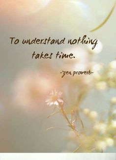 """terracemuse: """" To understand nothing takes time. (Zen proverb) image from etheral photography hunter """" Zen Quotes, Spiritual Quotes, Wisdom Quotes, Positive Quotes, Motivational Quotes, Life Quotes, Inspirational Quotes, Zen Buddhism Quotes, Zen Sayings"""