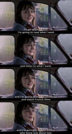 An Education  probably my favourite quote from this movie.