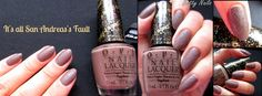 opi liquid sand http://betty-nails.blogspot.pt/2013/11/opi-san-francisco-collection-swatches.html
