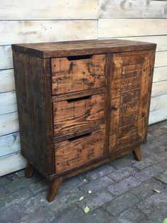 Rustic Sideboard/ Drawer Unit/ Cupboard